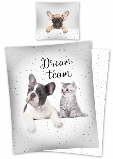 Obliečky Sweet Animals Dream Team 140/200, 70/80