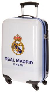 Cestovný kufor ABS Real Madrid One color one club white 67 cm