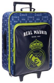 Cestovný kufor Real Madrid blue 52 cm 26 l