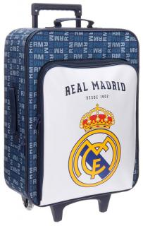 Cestovný kufor Real Madrid white 52 cm 26 l