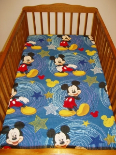 Plachta do postieľky Mickey Mouse 90/155