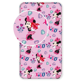 Plachta Minnie pink 02 90/200