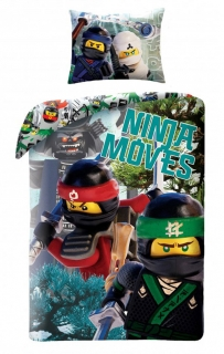 Obliečky Lego Ninjago Movie 140/200