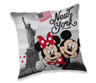 Povlak na Vankúšik Mickey a Minnie New York micro 40/40