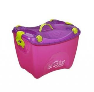 TRUNKI Travel TOYBOX 4v1 ružový